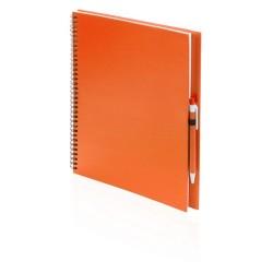 Tecnar jegyzetfüzet, narancssárga