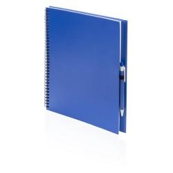 Tecnar jegyzetfüzet, kék