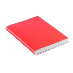 Taigan jegyzetfüzet, piros