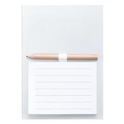 Yakari mágneses jegyzetlap, fehér