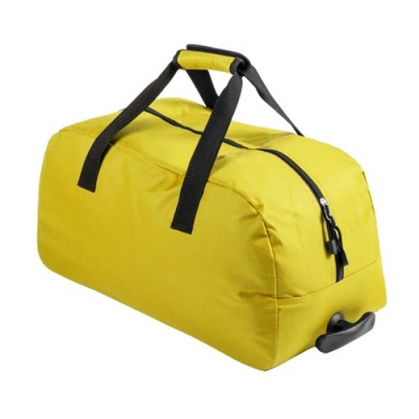 Bertox gurulós sporttáska, sárga