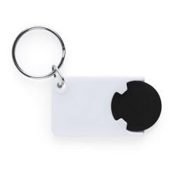 Zabax kulcstartós bevásárlókocsi érme, fekete