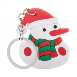 Tridux kulcstartó, hóember, fehér
