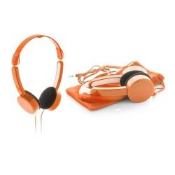 Heltox összehajtható fejhallgató, narancssárga