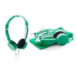 Heltox összehajtható fejhallgató, zöld