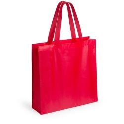 Natia bevásárlótáska, piros
