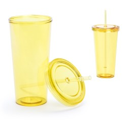 Trinox pohár, sárga