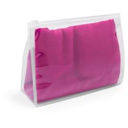 Rosix strand kendő, pink