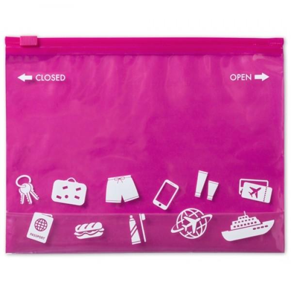 Dusky tároló zacskó, pink