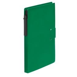 Prent jegyzetfüzet, zöld