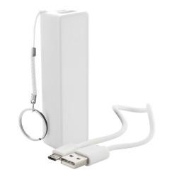 Youter USB power bank, fehér