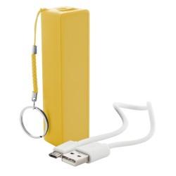 Youter USB power bank, sárga