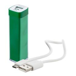 Sirouk USB power bank, zöld