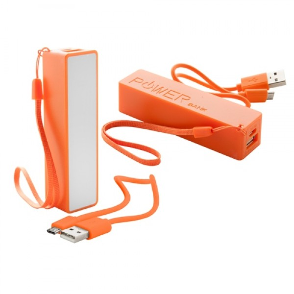 Keox USB power bank, narancssárga