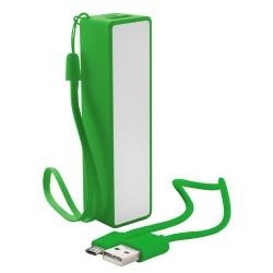 Keox USB power bank, zöld
