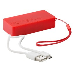 Nibbler USB power bank, piros