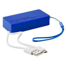 Nibbler USB power bank, kék