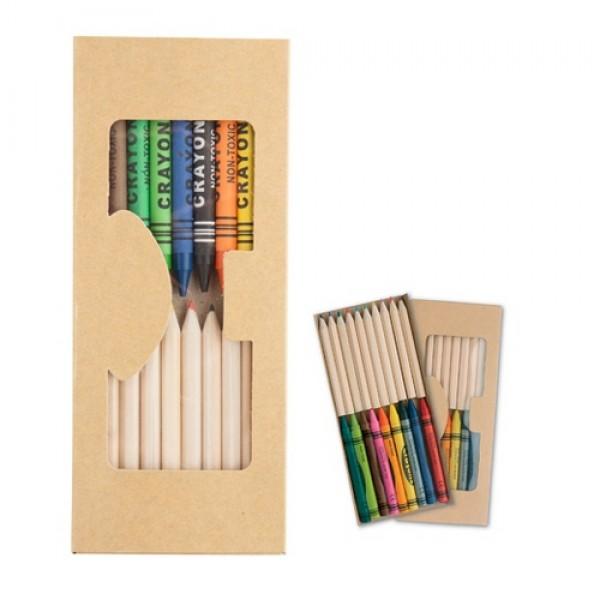 Aladin ceruza és zsírkréta szett