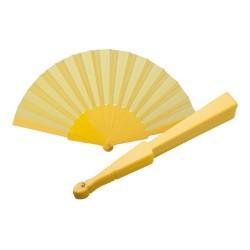 Tela legyező, sárga