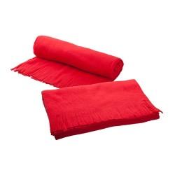 Bufanda polár sál, piros