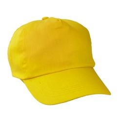 Sport baseball sapka, sárga
