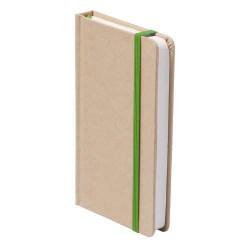 Bosco jegyzetfüzet, zöld