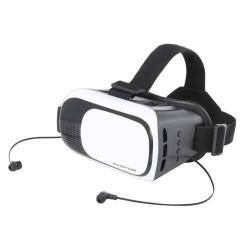 Tarley virtual reality headset, fekete