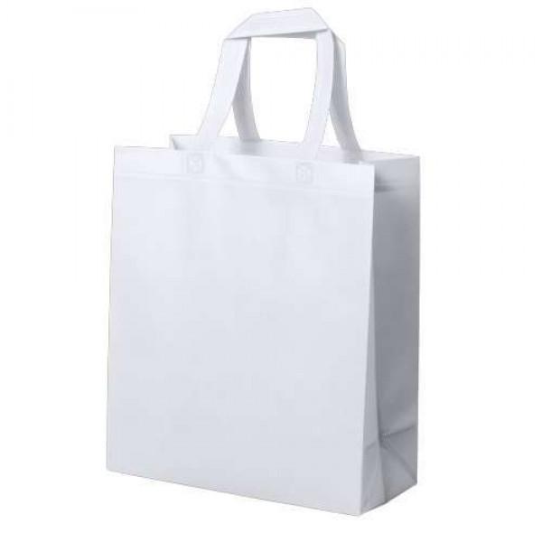 Kustal bevásárlótáska, fehér