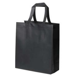 Kustal bevásárlótáska, fekete