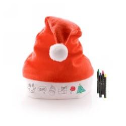 Rupler karácsonyi színező szett, piros