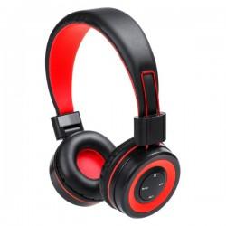 Tresor fejhallgató , piros