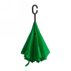 Hamfrek visszafordítható esernyő, zöld