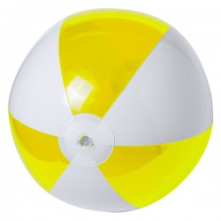 Zeusty strandlabda , sárga