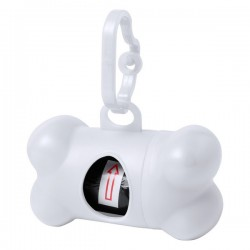 Rucin szemeteszsákadagoló kutyáknak , fehér