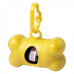 Rucin szemeteszsákadagoló kutyáknak , sárga
