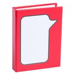 Dosan öntapadós jegyzettömb , piros