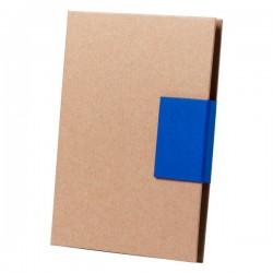 Ganok jegyzettömb és jelölő szett , kék