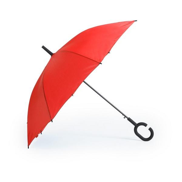 Halrum esernyő , piros