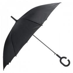 Halrum esernyő , fekete