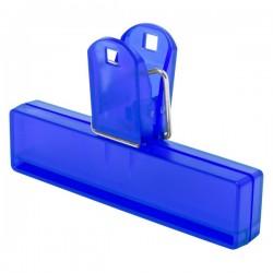 Flint tasakzáró csipesz , kék