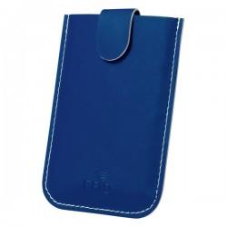 Serbin bankkártyatartó , kék