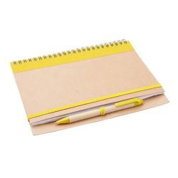 Tunel jegyzetfüzet, sárga