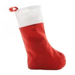 Saspi karácsonyi csizma, piros