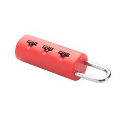 Ikun bőröndzár, piros
