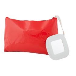 Xan kozmetikai táska, piros