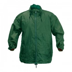 Garu esőkabát , zöld-M