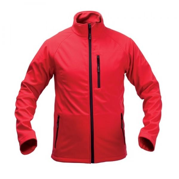 Molter soft shell kabát, piros