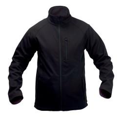 Molter soft shell kabát, fekete
