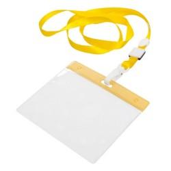 Maes passztartó nyakpánttal, sárga