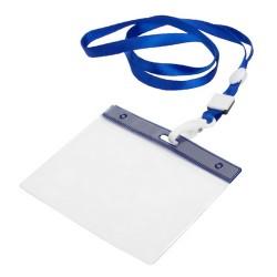 Maes passztartó nyakpánttal, kék